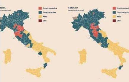 Elezioni Politiche 2018: straordinaria vittoria del M5S, Italia divisa in due